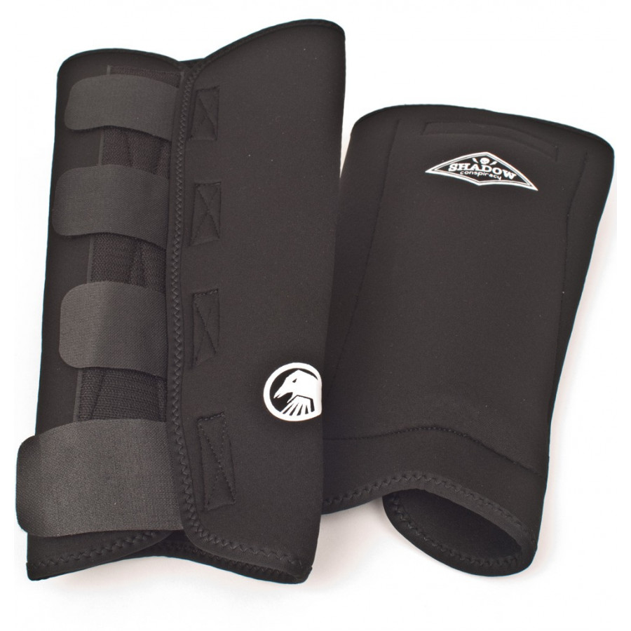 Shadow Shinners Shin Guards - Black
