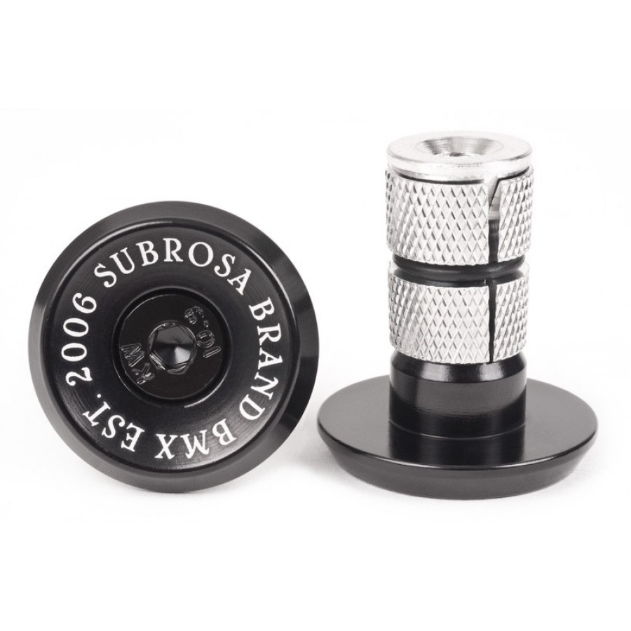 Subrosa Bitchin' Bar Ends - Black