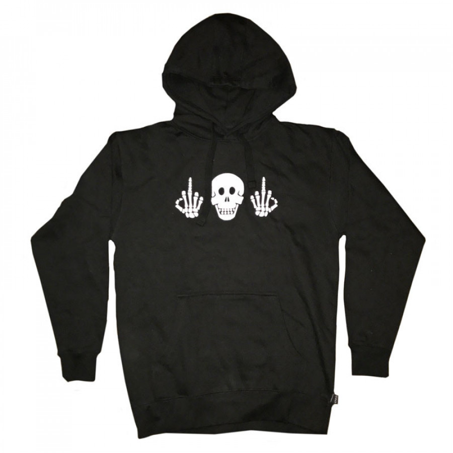 Cult Politics Hood Medium - Black
