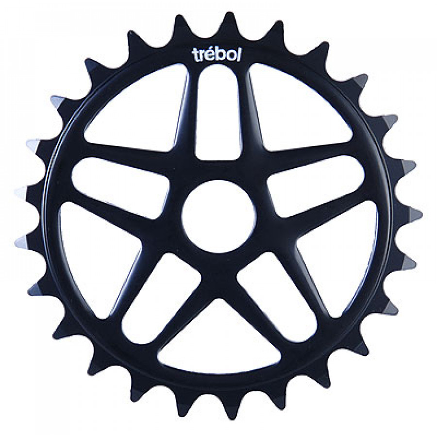 Fly Trebol 25T Sprocket - Flat Black
