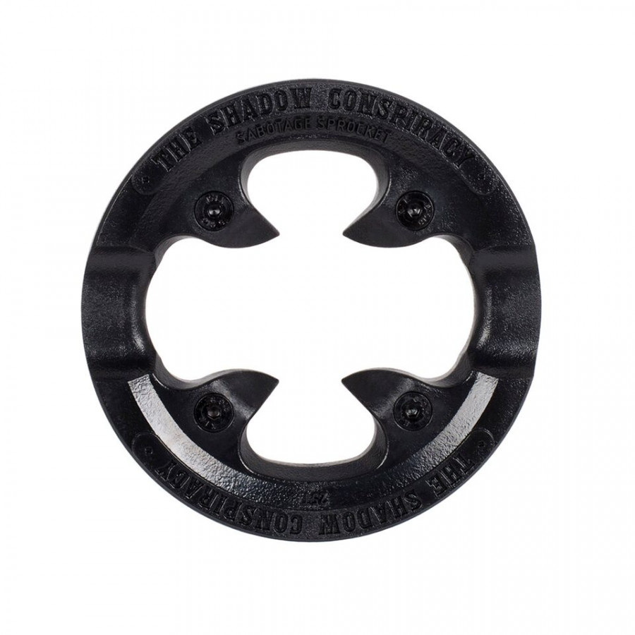 Shadow Sabotage Sprocket Guard Replacement - Black