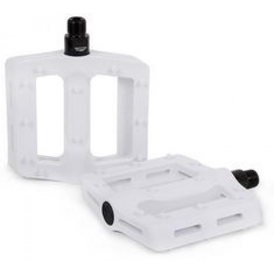 Shadow Surface Plastic Pedal - White