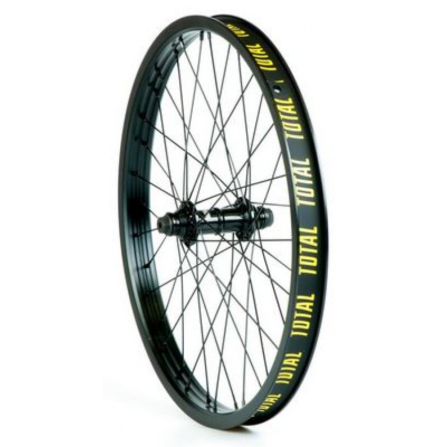 Total Techfire Front Wheel - Black