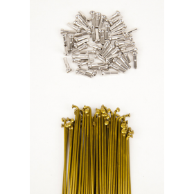 Dk Double Butted Spokes 191 - Gold