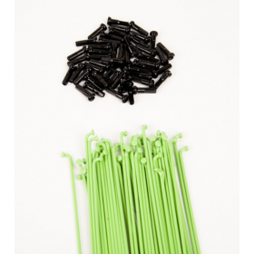 Dk Double Butted Spokes 194 - Green
