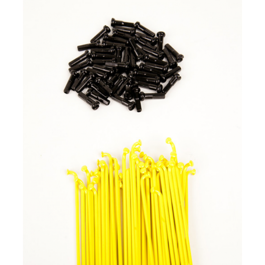Dk Double Butted Spokes 184 - Yellow