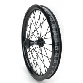 "Cult Crew 18"" Front Wheel - Black"
