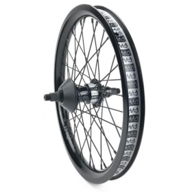 "Cult Crew 18"" Freecoaster Wheel - Black"