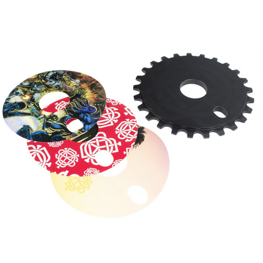Odyssey Discogram 25T Sprocket (Decals Included)