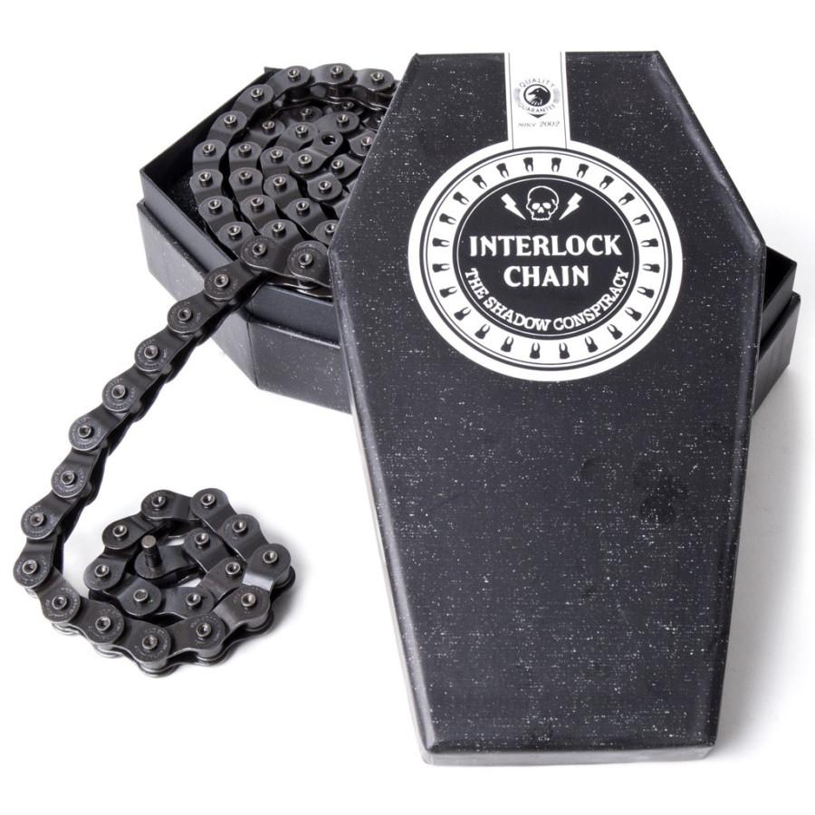 Shadow Interlock Chain V2 - Black