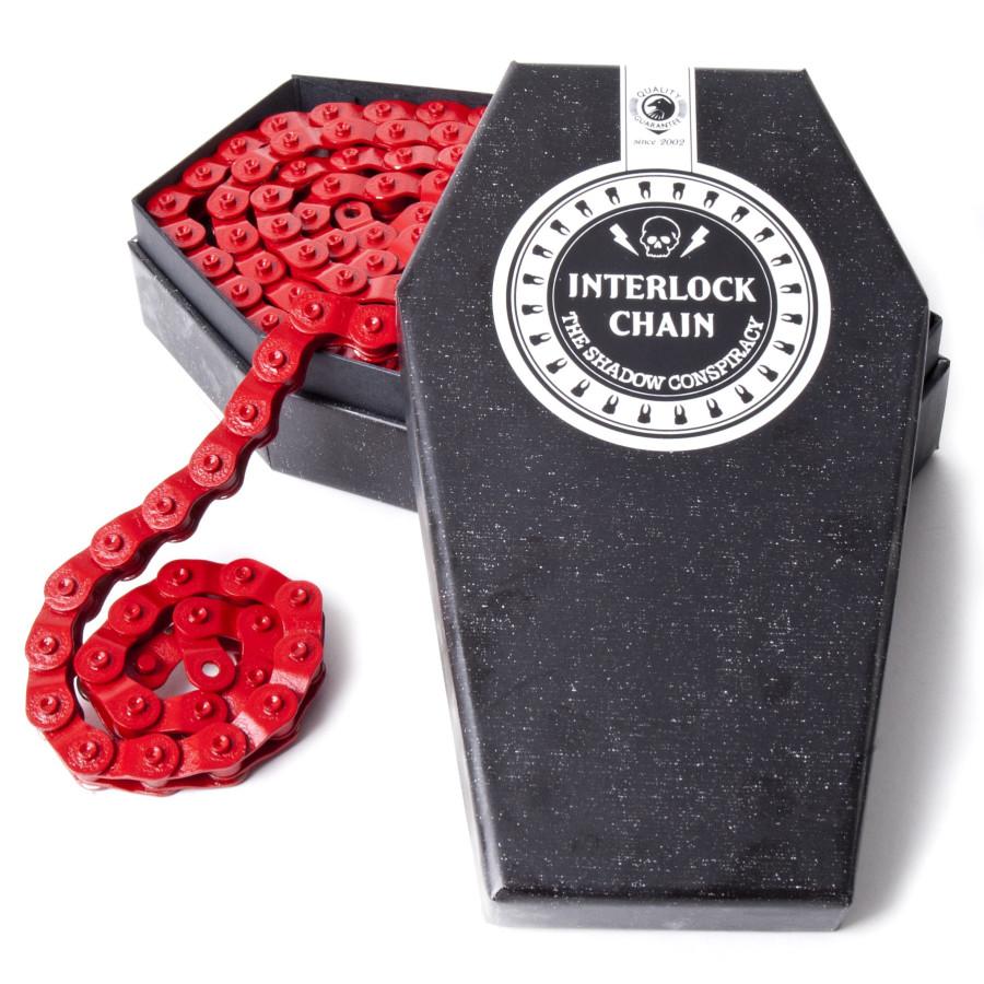 Shadow Interlock Chain V2 - Red