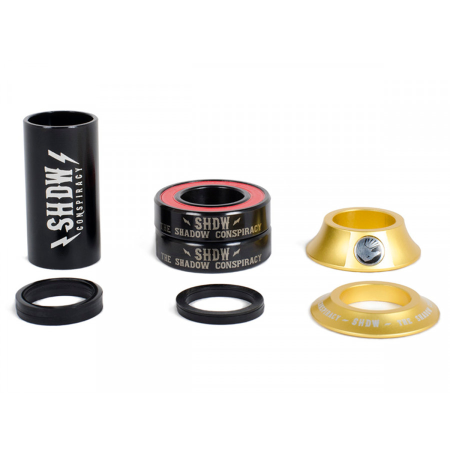 Shadow Stacked 22mm Mid Bottom Bracket - Pilsner Gold