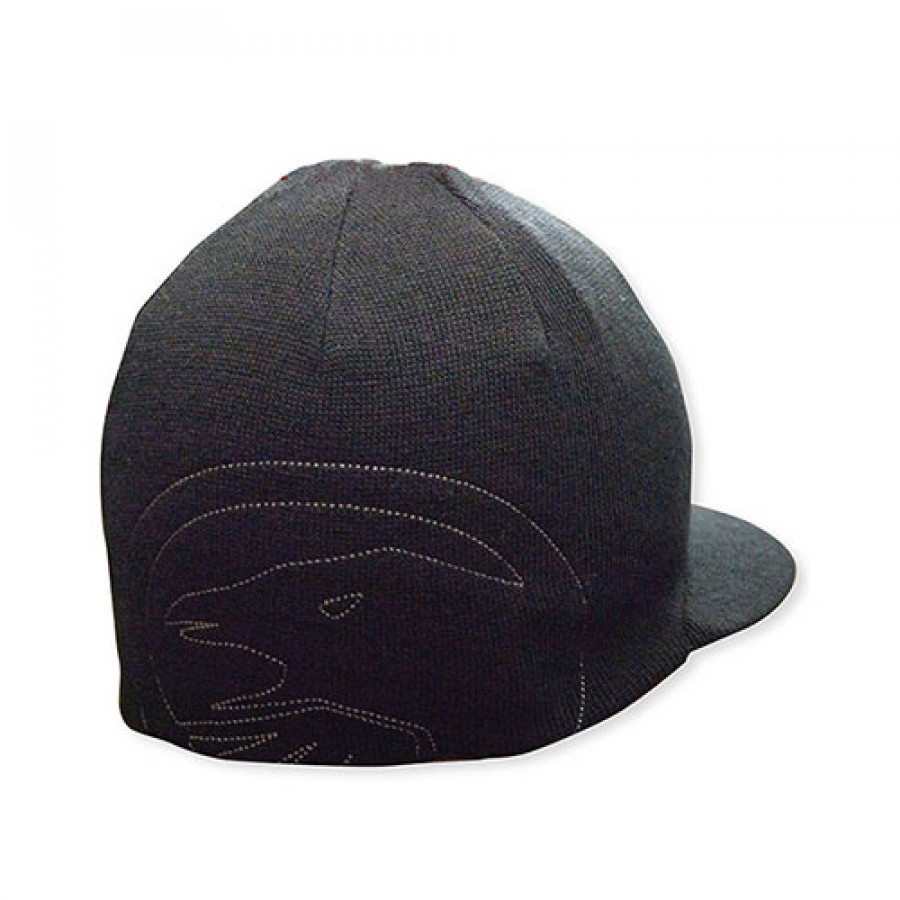 Shadow Visor Beanie - Black