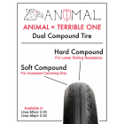 Animal X Terrible One Tire 2.40 - Black