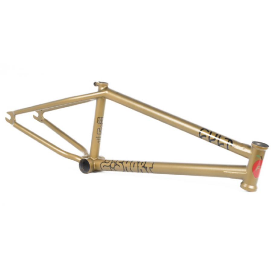 "Cult 2 Short 21"" Frame Brakeless - Panza Gold"