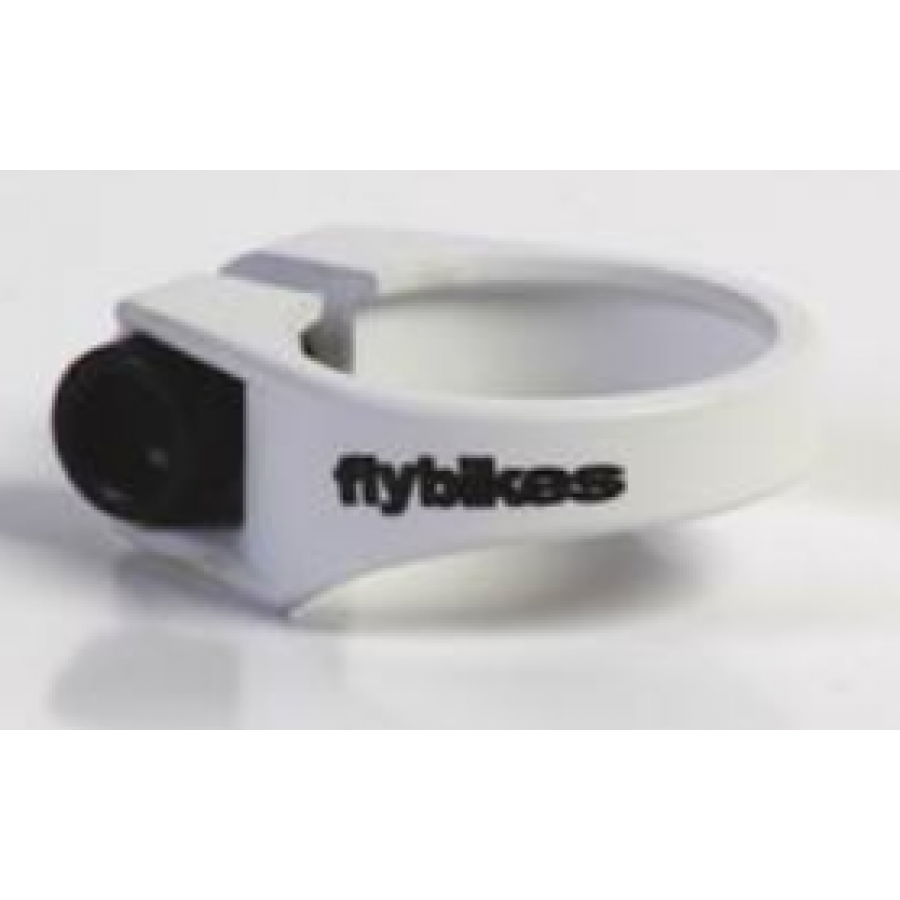 Fly Bikes Seat Clamp - White