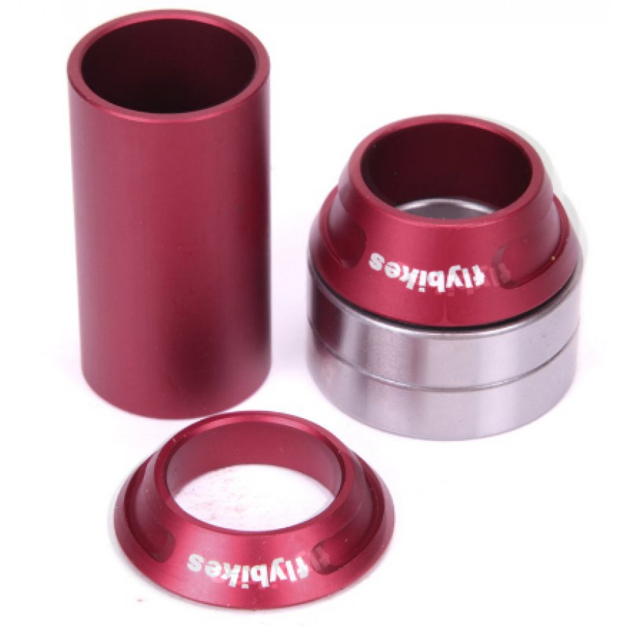 Fly Spanish 22 Bottom Bracket - Red