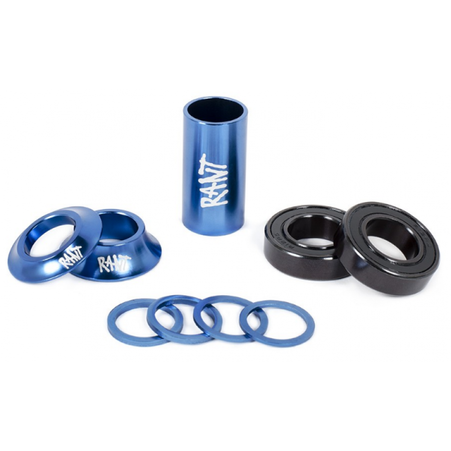 "Rant ""19mm"" Bang Ur Mid Bottom Bracket Kit - Blue"