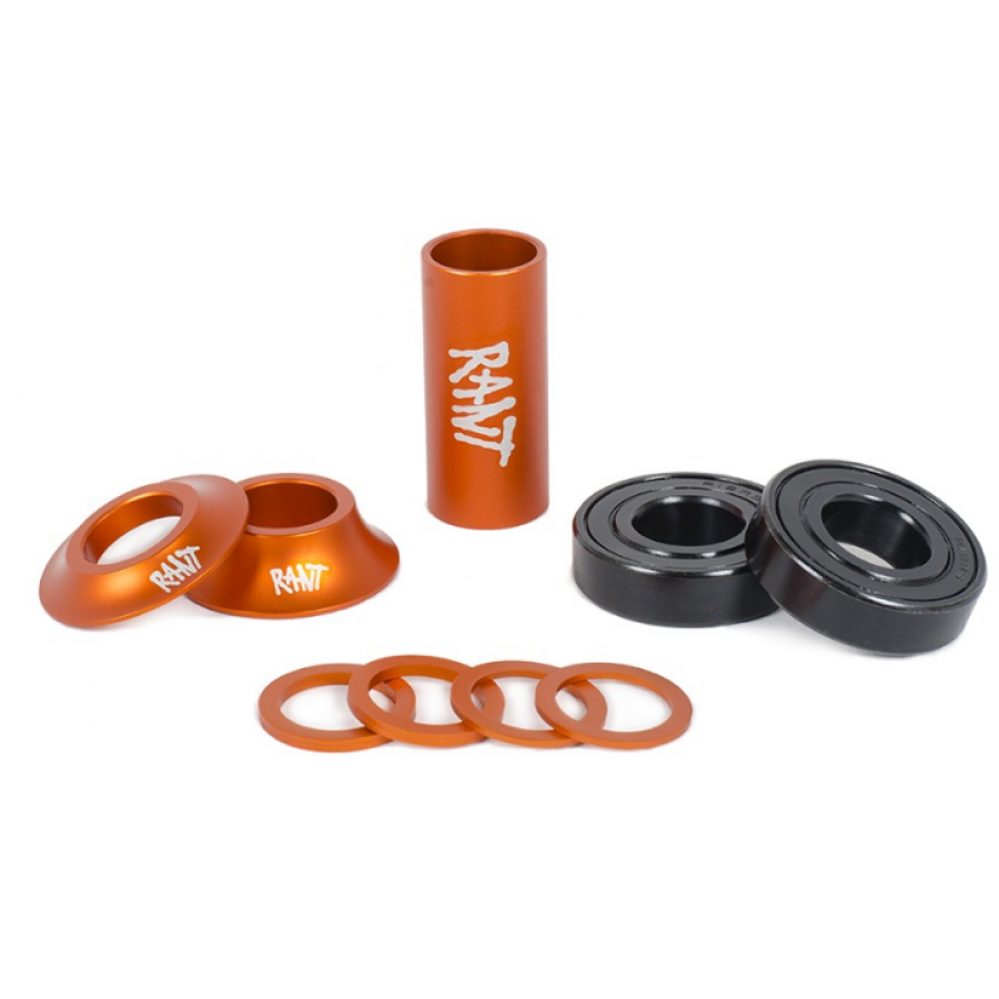 "Rant ""19mm"" Bang Ur Mid Bottom Bracket Kit - Orange"