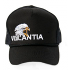 Vigilantia Trucker Hat - Black