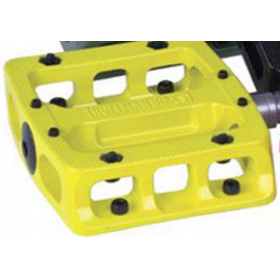 Hoffman Sole Mate Pedal Alloy Loose - Yellow