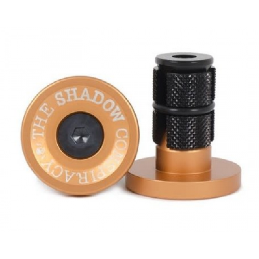 Shadow Deadbolt Bar Ends - Copper