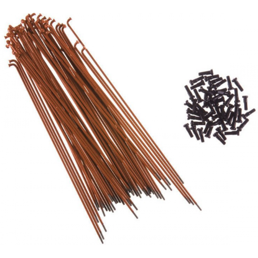 Primo 184mm Spokes - Brown