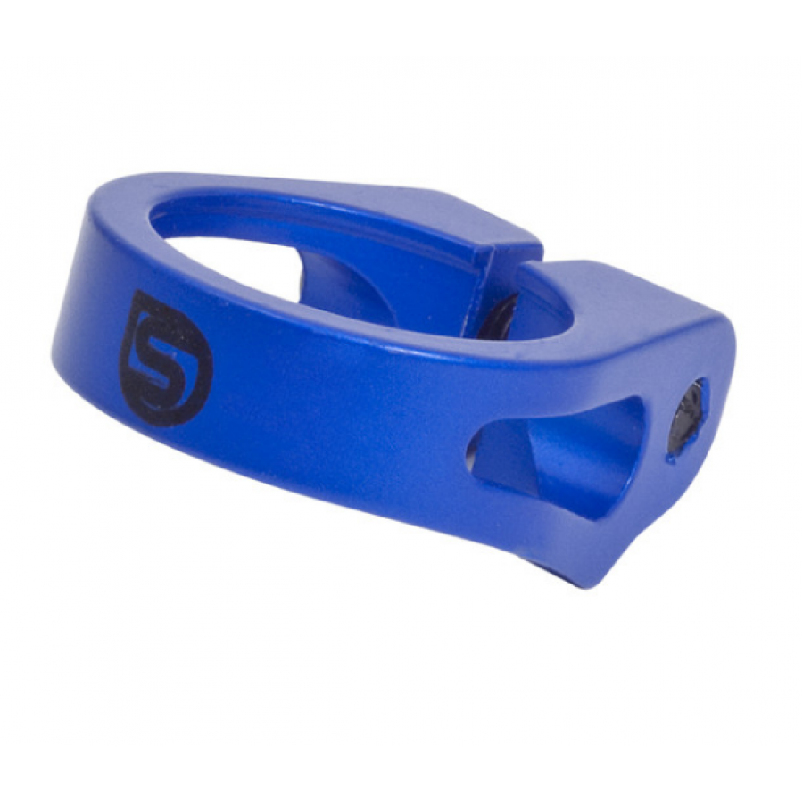 Sputnic Seat Post Clamp - Blue