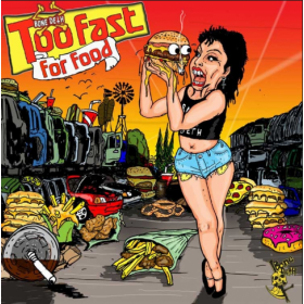 BONE DETH DVD - Too Fast For Food