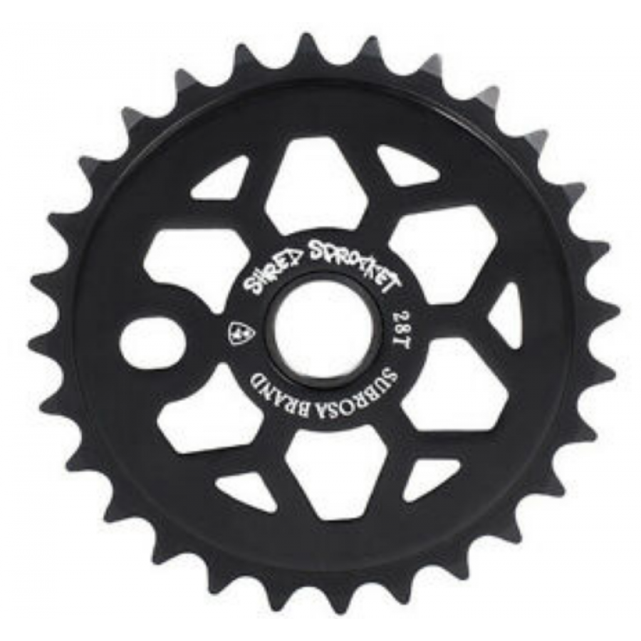Subrosa Shred 25 Tooth Sprocket - Black