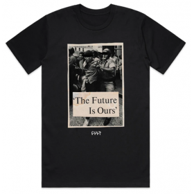 Cult The Future is Ours Tee XL - Black