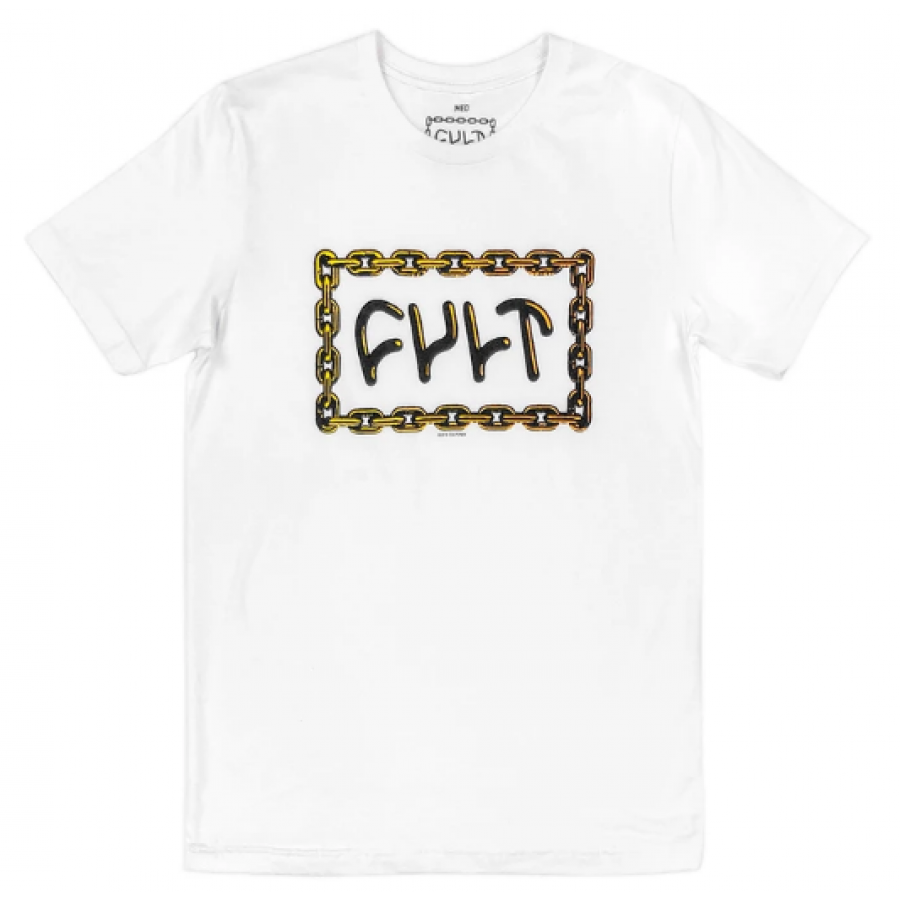 Cult For Life Tee XL - White