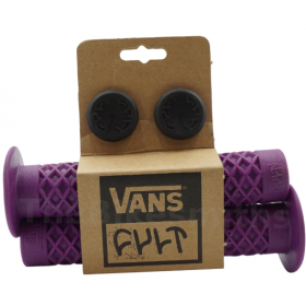 Cult Vans Waffle Grips w/ Flanged - Purple
