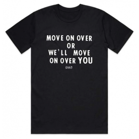 Cult Move ON Over Tee XXL - Black