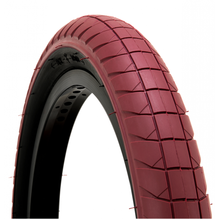 Fly Fuego Tire 20x2.30 - Dark Red/Black Sidewall