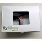 Fly Bikes Uno Seat/Post Combo - Black/Red