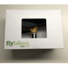 Fly Bikes Uno Seat/Post Combo - Black/Rubber