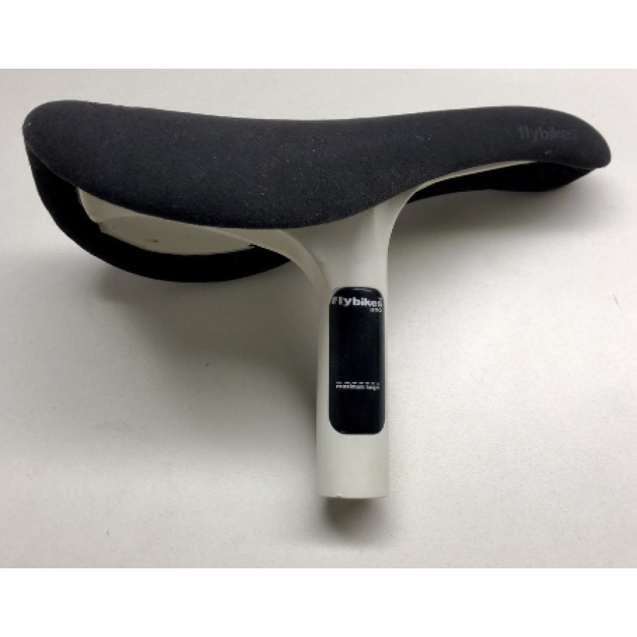 Fly Bikes Uno Seat/Post Combo - White/Black