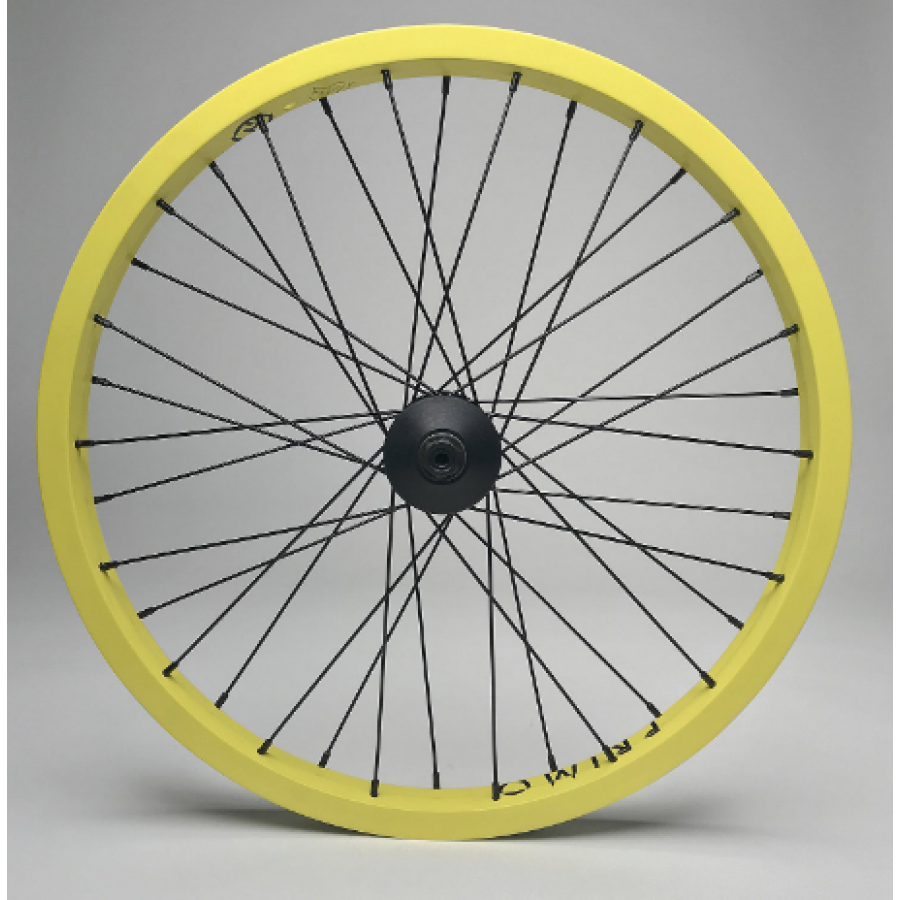 Primo Balance/ VS Front Wheel - Yellow/Black