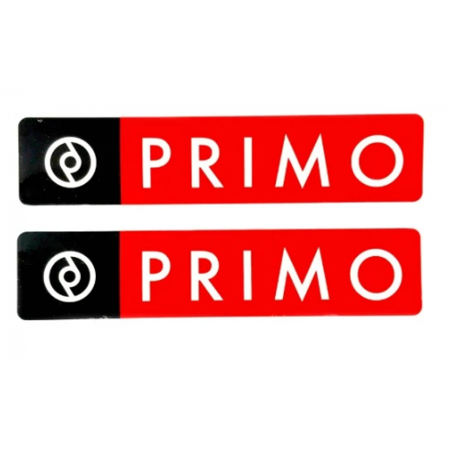 Primo Box Logo Sticker (2 per pack)
