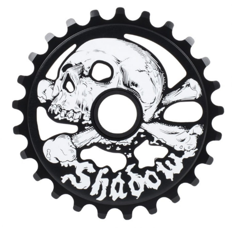 Shadow Cranium 28T Sprocket - Black