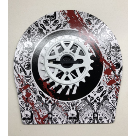 The Shadow Ravager Sprocket 22t - White