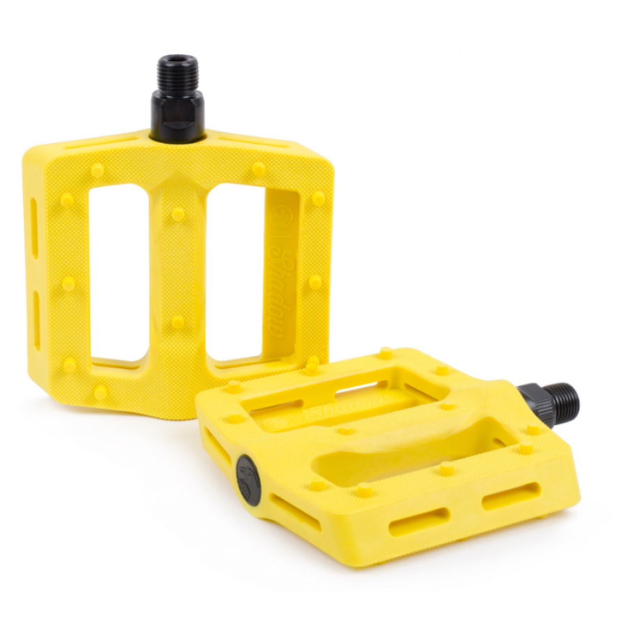 Shadow Surface Plastic Pedal - Flare Yellow