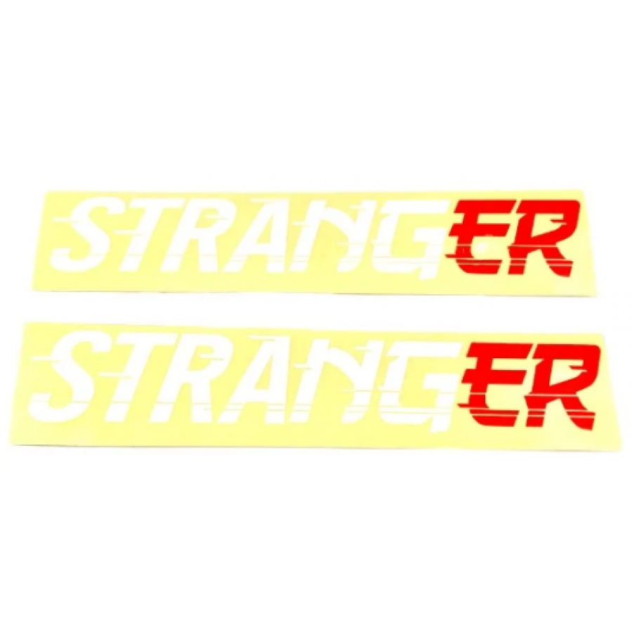 Stranger Drift Sticker Pack