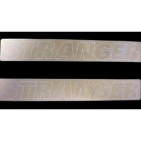 Stranger Outline Sticker Pack