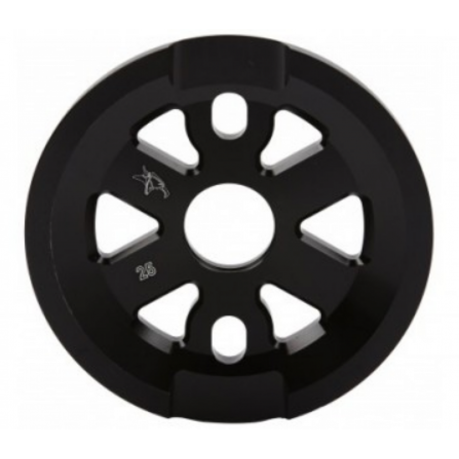 Animal Full Guard Sprocket 25t - Black
