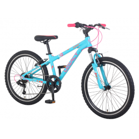 "Legacy Junior Complete 24"" Bicycle - Blue/Pink"