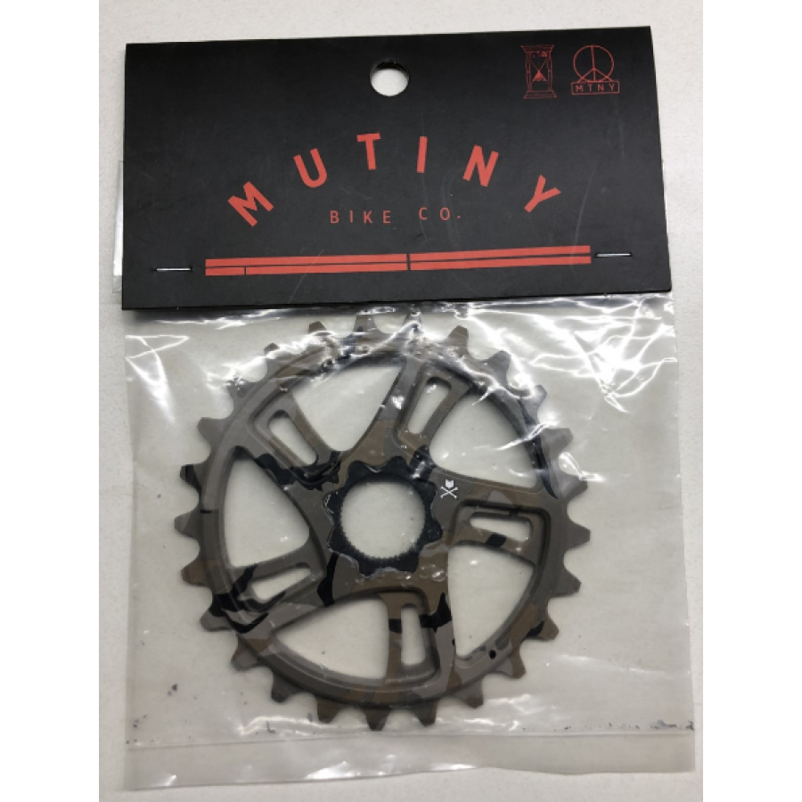 Mutiny 25 Tooth Pentra 22mm Spline Sprocket - Camo