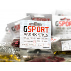 GSport Taper-Hex Nipples - Gold